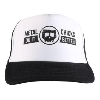 berretto METAL CHICKS DO IT BETTER - Skull - Logo - Nero