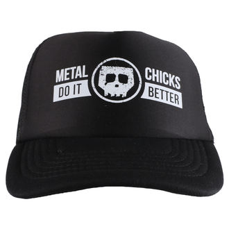 berretto METAL CHICKS DO IT BETTER - Skull - Logo - Nero, METAL CHICKS DO IT BETTER
