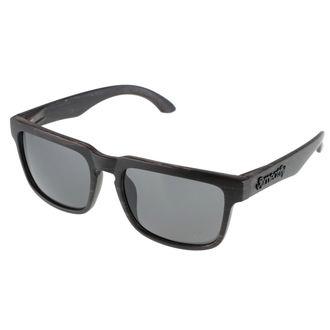 occhiali da sole Meatfly - Craft A - Nero Legna, MEATFLY