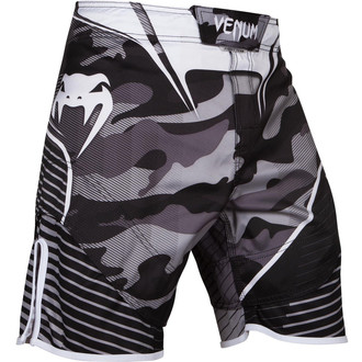 boxe pantaloncini Venum - Camo Hero - bianca / Nero, VENUM