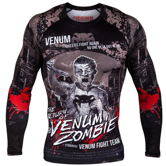 t-shirt street uomo - Zombie Return Rashguard - VENUM, VENUM