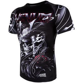 t-shirt street uomo - Samurai Skull Rashguard - VENUM, VENUM