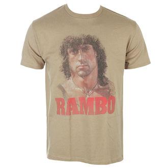 t-shirt film uomo Rambo - GRUNGE RAMBO - AMERICAN CLASSICS, AMERICAN CLASSICS, Rambo