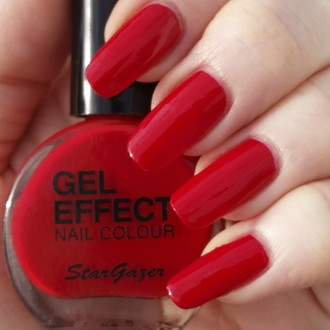 smalto per unghie STAR GAZER - Gel Effect Chiodo polacco - Vampiro, STAR GAZER