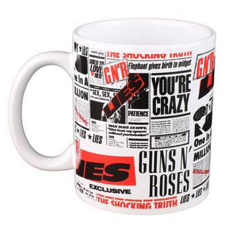 tazza Guns N' Roses - ROCK OFF, ROCK OFF, Guns N' Roses
