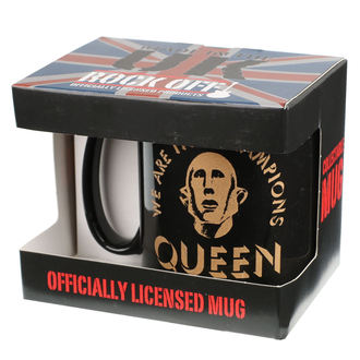tazza QUEEN - ROCK OFF, ROCK OFF, Queen