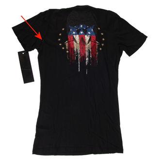 t-shirt hardcore donna - Americoma - WORNSTAR, WORNSTAR