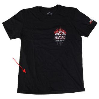 t-shirt uomo - Pinstripe Flame - ORANGE COUNTY CHOPPERS, ORANGE COUNTY CHOPPERS