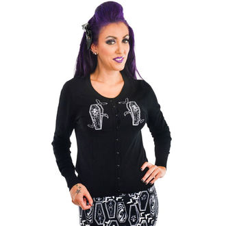 maglione da donna TOO FAST - EMBROIDERED - COFFINS, TOO FAST