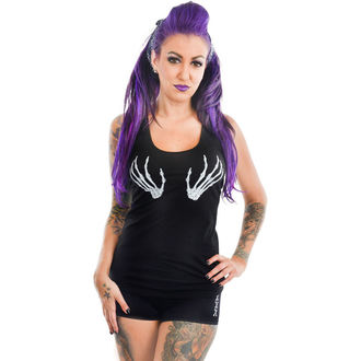 top donna TOO FAST - RACERBACK - SCHELETRO MANI, TOO FAST