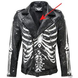 giacca di pelle - Morgue Master - KILLSTAR, KILLSTAR