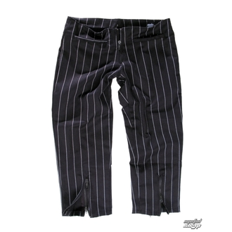 pantaloni donna 3/4 Mode Wichtig - Zip Slacks Pin Stripe, MODE WICHTIG