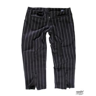 pantaloni donna 3/4 Mode Wichtig - Zip Slacks Pin Stripe, MODE WICHTIG