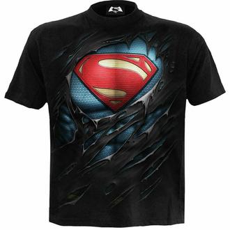 Maglietta da uomo SPIRAL - Superman - RIPPED - Nero, SPIRAL, Superman