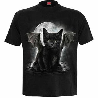 Maglietta unisex SPIRAL - BAT CAT - Nero, SPIRAL