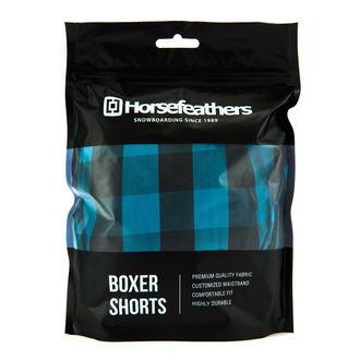 boxer HORSEFEATHERS - APOLLO - METILE BLU, HORSEFEATHERS