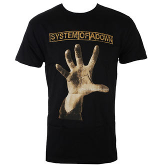 t-shirt metal uomo System of a Down - HAND - BRAVADO, BRAVADO, System of a Down