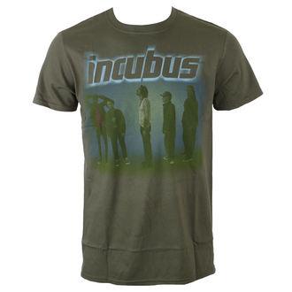 t-shirt metal uomo Incubus - WASHOUT- OLIVE - BRAVADO, BRAVADO, Incubus