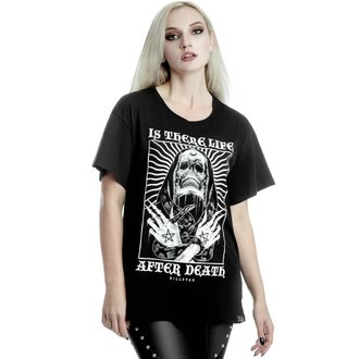 maglietta donna KILLSTAR - Afterlife Relaxed - NERO, KILLSTAR