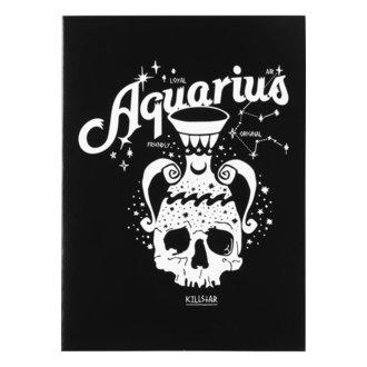 Cartolina d'auguri KILLSTAR - Aquarius - NERO, KILLSTAR