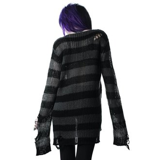 Maglione KILLSTAR - Ash Distress - NERO, KILLSTAR