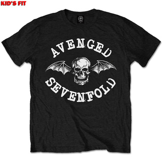 Maglietta da bambini Avenged Sevenfold - Classic Deathbat - ROCK OFF, ROCK OFF, Avenged Sevenfold