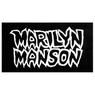 asciugamano KILLSTAR - MARILYN MANSON - Evitare Il Sole - Nero, KILLSTAR, Marilyn Manson