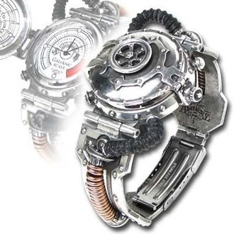 orologio da polso EER Steam-Powered Entropia Calibratore AW15, ALCHEMY GOTHIC