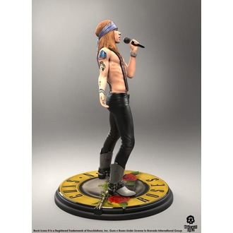figura Guns N' Roses - Axl Rose - Roccia Iconz - KNUCKLEBONZ, KNUCKLEBONZ, Guns N' Roses