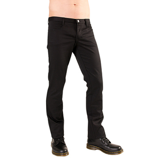 pantaloni Nero Pistol - Hipster Denim Nero, BLACK PISTOL