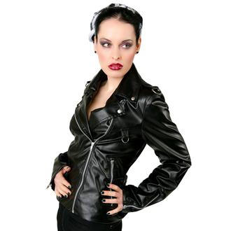 giacca di pelle donna - Biker Jacket Sky Black - BLACK PISTOL, BLACK PISTOL