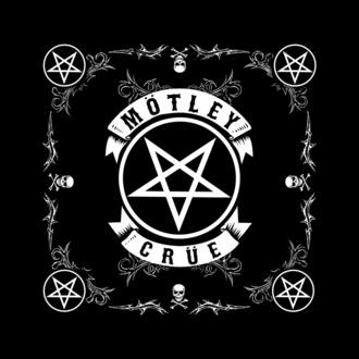 fazzoletto/ bandana Mötley Crüe - Pentagram - RAZAMATAZ, RAZAMATAZ, Mötley Crüe