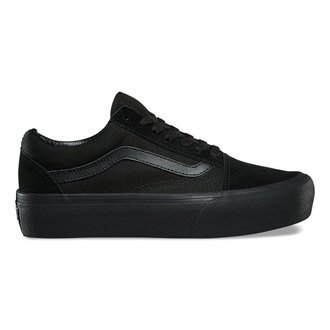 scarpe da ginnastica basse donna - UA OLD SKOOL PLATFOR Black/Black - VANS, VANS