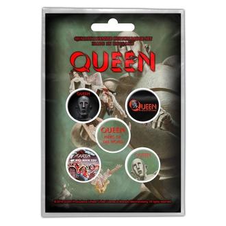 Distintivi Queen - News Of The World - RAZAMATAZ, RAZAMATAZ, Queen