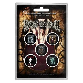 Distintivi Cradle Of Filth - Albums - RAZAMATAZ, RAZAMATAZ, Cradle of Filth