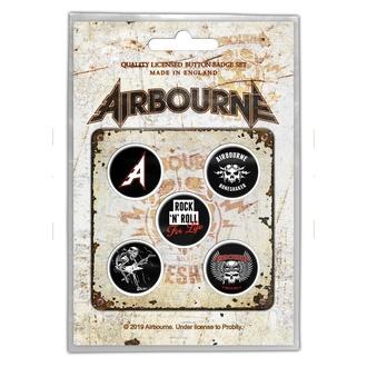 Distintivi Airbourne - Boneshaker - RAZAMATAZ, RAZAMATAZ, Airbourne