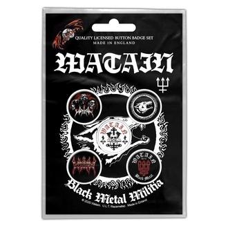 Distintivi Watain - Black Metal Militia - RAZAMATAZ, RAZAMATAZ, Watain