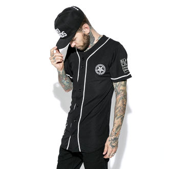 camicia (unisex) BLACK CRAFT - Team Satan Baseball Jersey, BLACK CRAFT