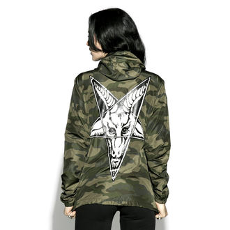 giacca primaverile / autunnale unisex - Baphomet - BLACK CRAFT, BLACK CRAFT
