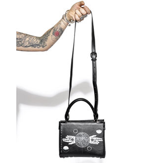 borsetta (borsa) BLACK CRAFT - Two Finger Salute Mini Satchel, BLACK CRAFT