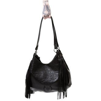 Borsa KILLSTAR - BELLADONNA FRINGE - NERO, KILLSTAR