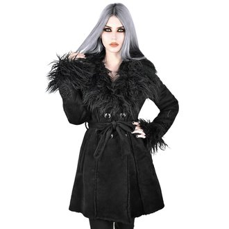cappotto KILLSTAR - Belladonna Shearling - NERO, KILLSTAR