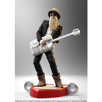 Statua/ figura ZZ Superiore - Billy F Gibbons - Roccia Iconz, ZZ-Top