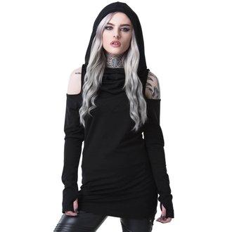 t-shirt donna - BIBLIOMANCY- BLACK - KILLSTAR, KILLSTAR