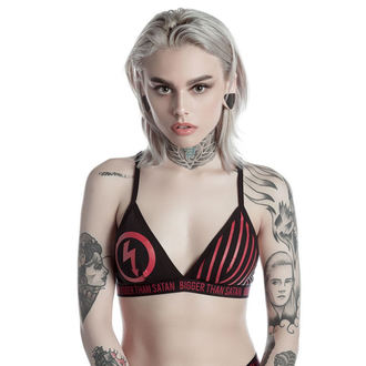 reggiseno da donna KILLSTAR - MARILYN MANSON - Bigger Than Satan - Nero, KILLSTAR, Marilyn Manson