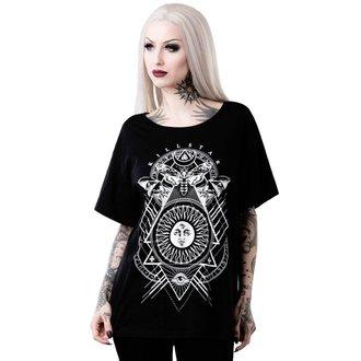 t-shirt donna - BLACK SUN RELAXED - KILLSTAR, KILLSTAR
