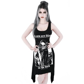 vestito (tunica) KILLSTAR - Black Cats, KILLSTAR
