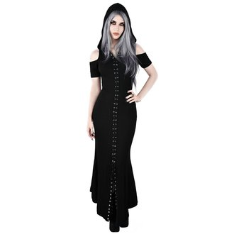 vestito KILLSTAR - Blazing Maxi - NERO, KILLSTAR