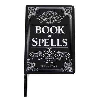 Bloc notes KILLSTAR - Book of Spells -l Black, KILLSTAR