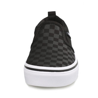 scarpe da ginnastica basse bambino - YT ASHER (Checker)Blk/Bl - VANS, VANS